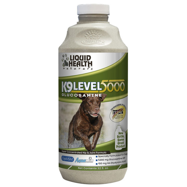 k9 liquid glucosamine level 5000 for dogs